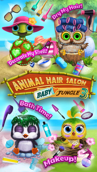 Hack tool for Baby Animal Hair Salon 3 - Newborn Hatch & Haircut