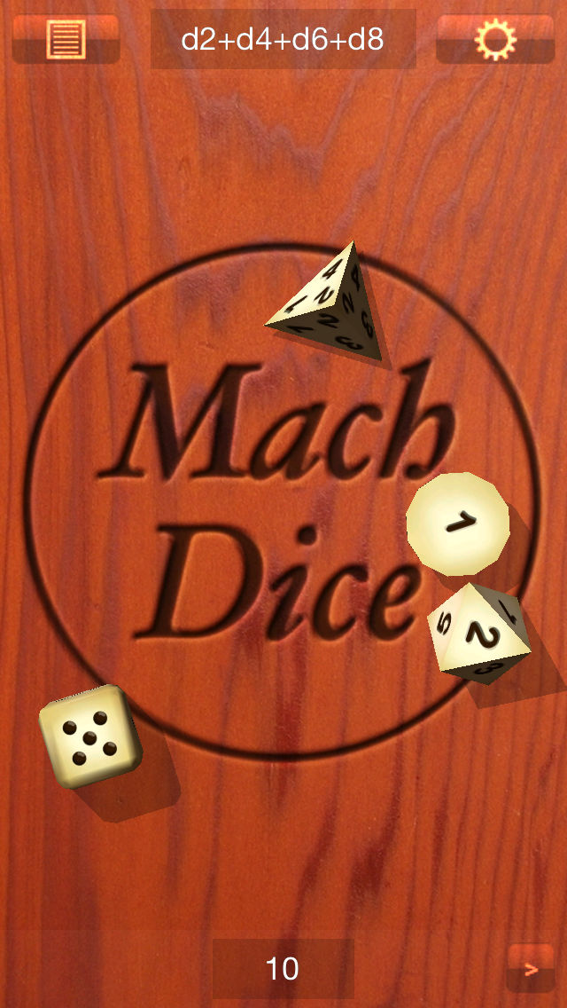 Hack tool for Mach Dice