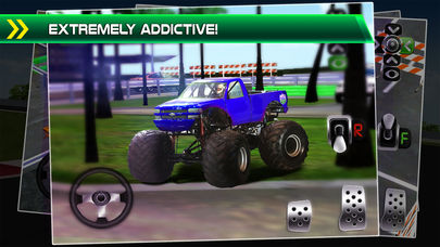 Hack tool for Monster Truck Parking Simulator - 3D Car Bus Driving & Racing Games