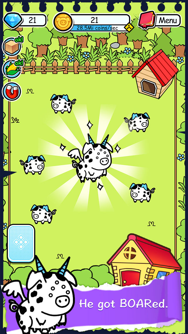Hack tool for Pig Evolution - Tap Coins of the Piggies Mutant Tapper & Clicker Game