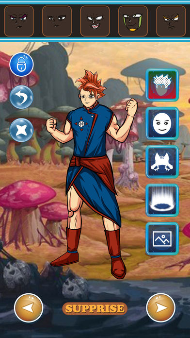 Hack tool for Super Saiyan DressUp - for Dragon Ball Z Heros