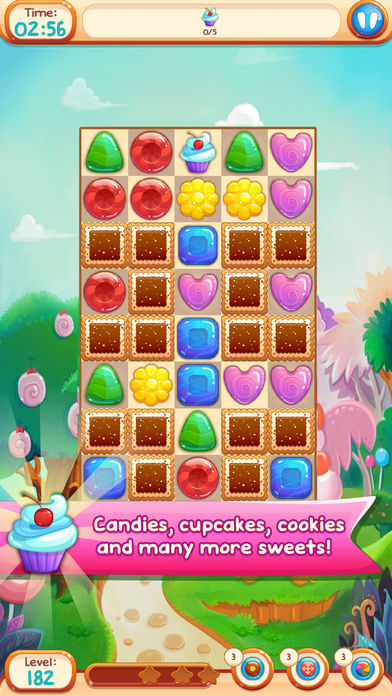 Hack tool for Sweet Candies 2 - Cookie Crazy