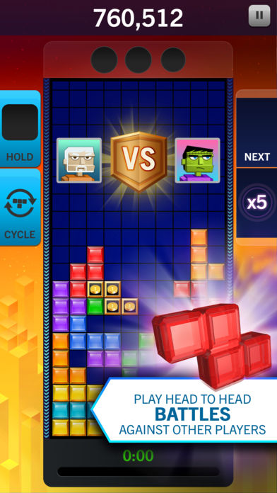 Hack tool for Tetris® Blitz