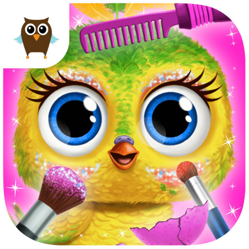Baby Animal Hair Salon 3 - Newborn Hatch & Haircut cheats
