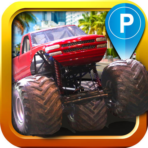 Monster Truck Parking Simulator - 3D Car Bus Driving & Racing Games cheats