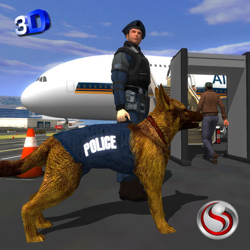 Police Dog Airport Crime Chase cheats